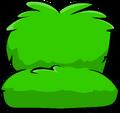 Fuzzy Green Couch sprite 001
