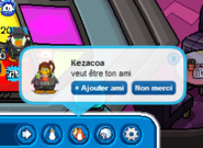 Kezacoa Friend Request Club Penguin