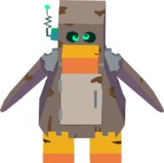 Penguin robot transformation sprite