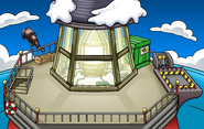 Puffle Party 2012 construction Beacon