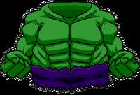 Traje de Hulk icono