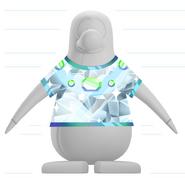 Camiseta suprema de platino Adelanto