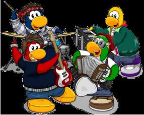 Image result for penguin band club penguin