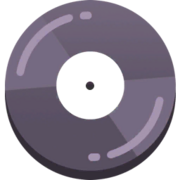 Music track blank icon