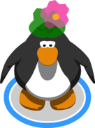 Balloon Flower Hat ingame