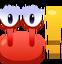 Emoticón de Petición cangreja