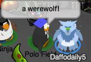 Polo Field: ¡un hombre-lobo!