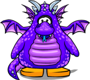 Purple Dragon Player Card
