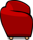 Red Plush Couch sprite 007