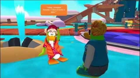 Splashdown The Director's Cut Disney Club Penguin Island