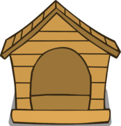 Brown Puffle House ID 205 sprite 001