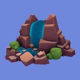 Cascada Selvática Icono