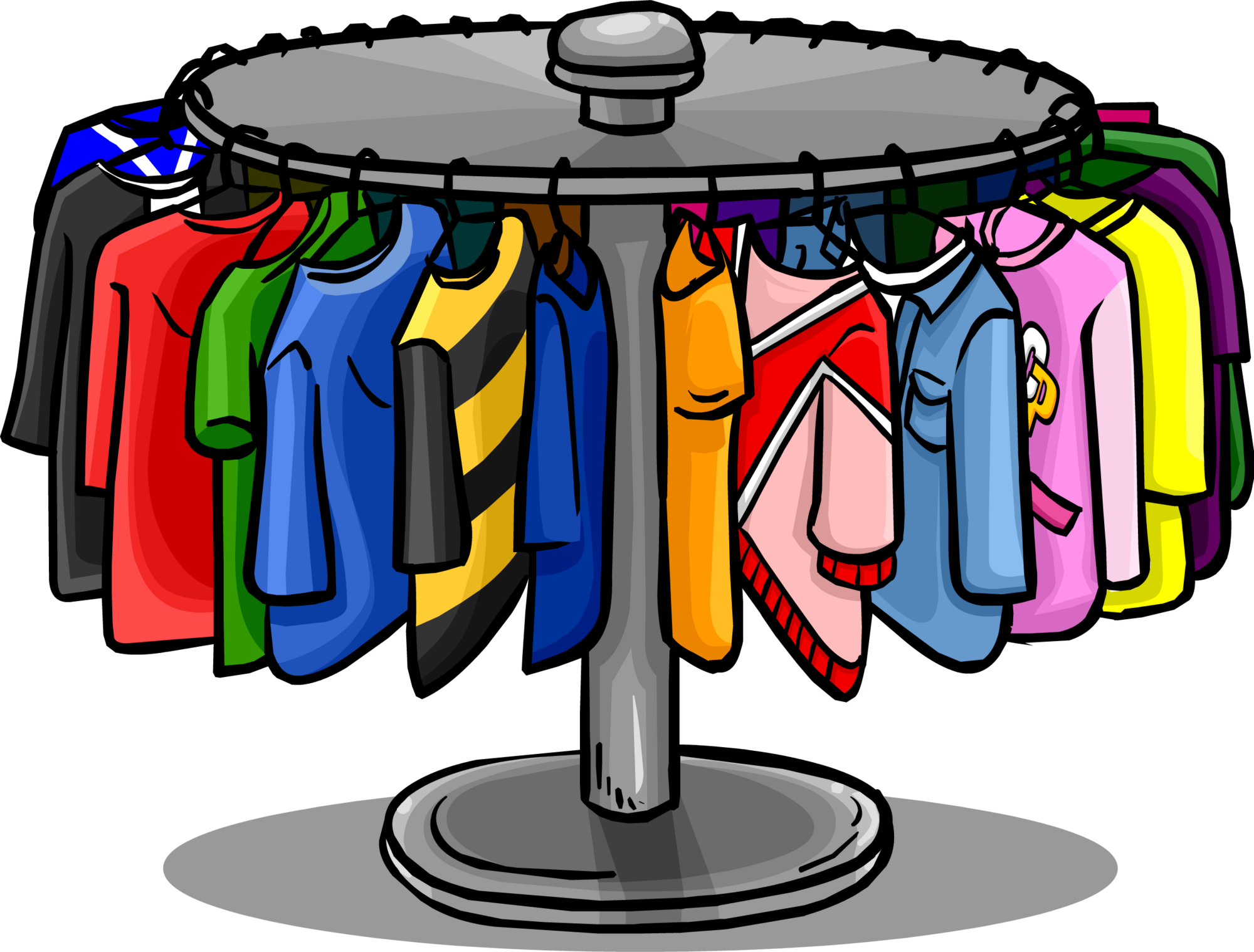 Garderobenständer clipart  Clothes Rack | Club Penguin Wiki | FANDOM powered by Wikia
