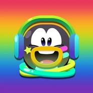 Club Penguin Celebración Arcoíris Redes Sociales Perfil