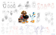Club Penguin Island Character Concept