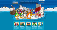 Club Penguin Site August 2011