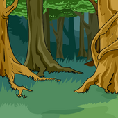 Enchanted Forest Background