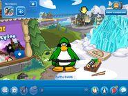 Frozen Party App Home