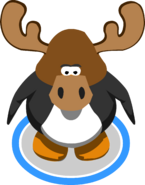 Zeus The Moose Head In-Game