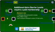 Astro Barrier Membership Error