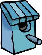 Blue Birdhouse sprite 001