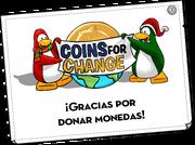Coins For Change Card full award es