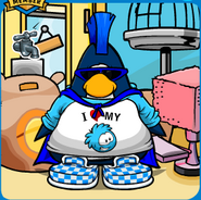 Blue Puffle Mariocart25