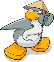 Club Penguin Sensei (Original Design).
