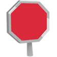 Gear Stop Sign icon