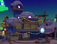 Igloos & Interiors exterior Halloween 2017