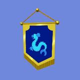 Bandera de Hogar Icono