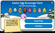 Easter Egg Hunt 2012 scavenger hunt