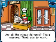 Pizza chef correct orders