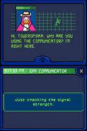 Checking signal strength