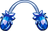 Crystal Puffle Earmuffs icon