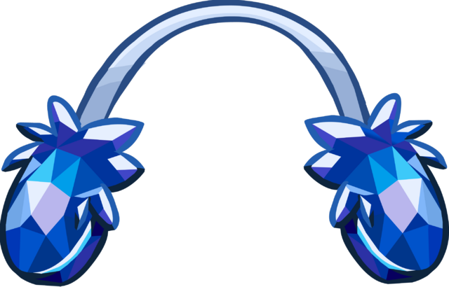 file crystal puffle earmuffs icon png