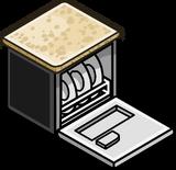 Granite Top Dishwasher sprite 002