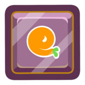 Orange O'berry Pin icon