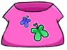 Butterfly T-Shirt clothing icon ID 203