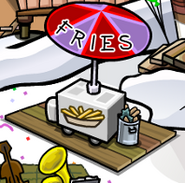 Cp fries stand