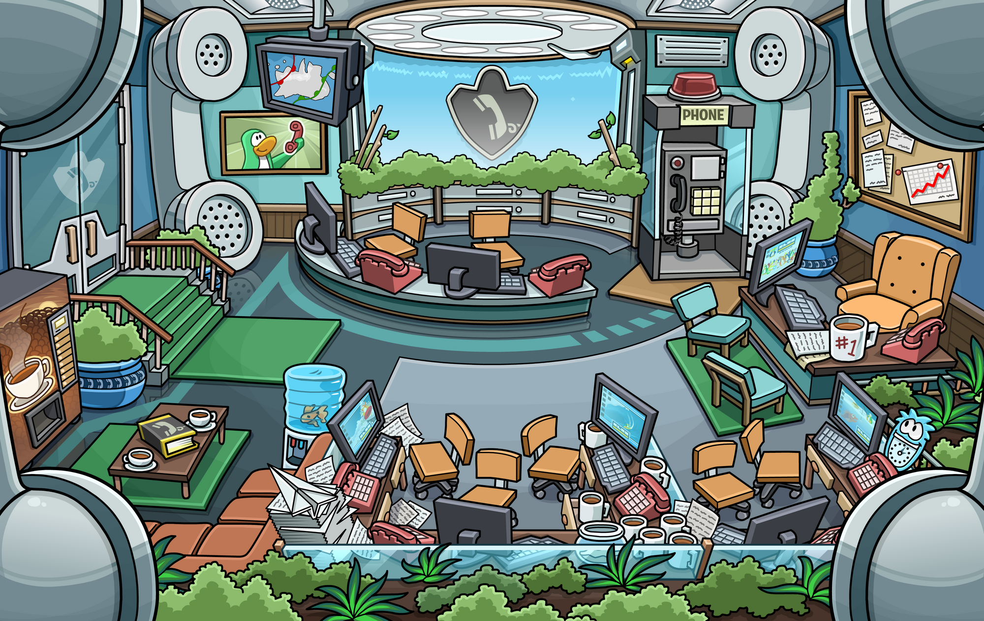 2000?cb=20150801114341 everyday phoning facility club penguin wiki fandom powered by how to beat the fuse box in club penguin at gsmx.co