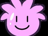 Globo de Puffle Rosa