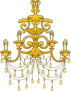 GoldChandelier