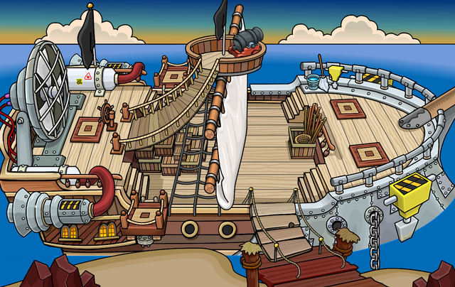 File:Rockhopper's Quest Migrator docked at Dinosaur Island.png