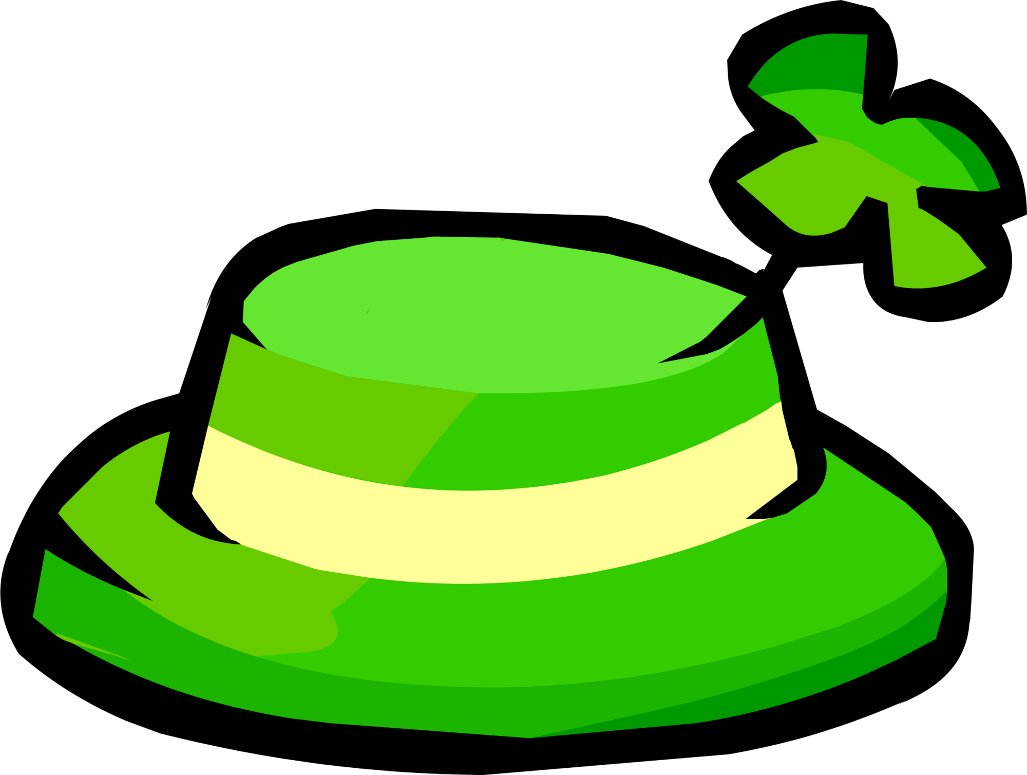 Shamrock hat club penguin wiki fandom powered by wikia biocorpaavc Images