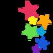 Estrellas Calcomanía Icono