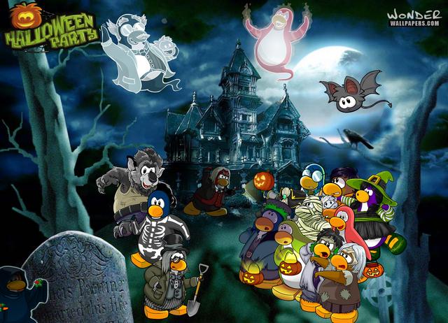 filehalloween party wallpaperpng - Halloween Party Wallpaper