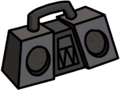 Monster Boombox furniture icon ID 2023