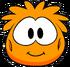 Orange Puffle Costume