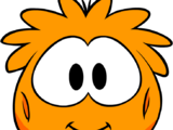 Orange Puffle Costume